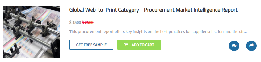 Global Web-to-Print Category