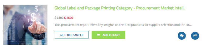 Global Label and Package Printing Category